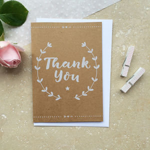 Wedding Thank You Card - thank you cards