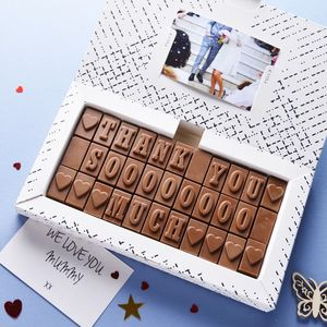 Chocolate Thank You Card - thank you gifts