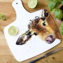 Inky Cow Chopping Board