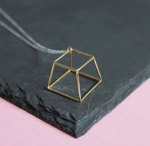 Single Prism Necklace - necklaces & pendants