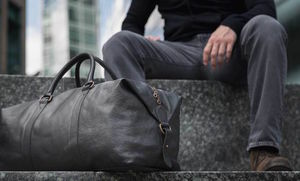 Leather Holdall - bags