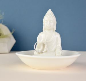 Personalised Buddha Jewellery Ring And Trinket Dish