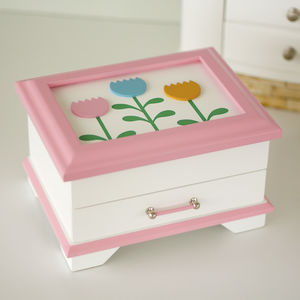 Girl's Wooden Jewellery Box - jewellery storage & trinket boxes