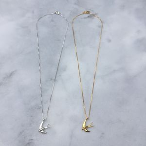 Swallow Pendant - necklaces & pendants