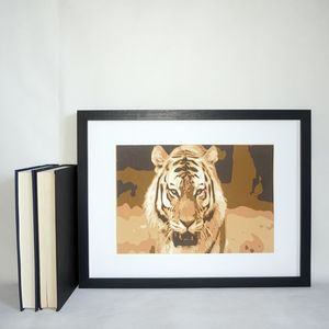 Personalised Animal Portrait Layered Papercut