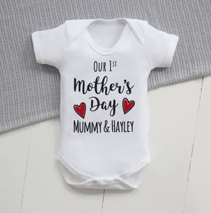 1st Mother's Day Bodysuit - mother's day gifts