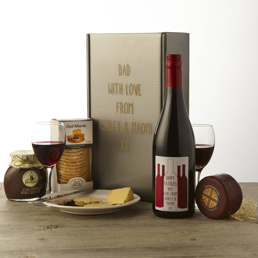 Wine And Food Lovers Gift Box