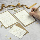 Confetti DIY Wedding Invitation Set