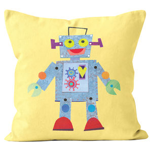 Robot Cushion - children's cushions