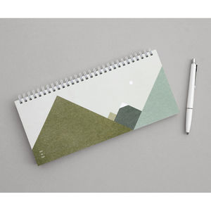 Eco Moonlight Desk Weekly Planner - 2018 calendars & planners