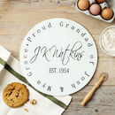 Personalised Signature Glass Chopping Board