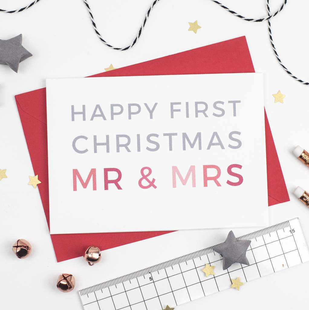 first christmas as couple