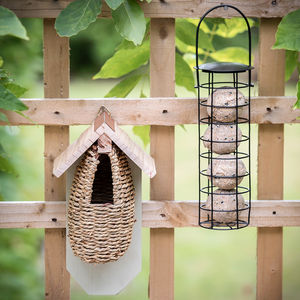 Bird Nesting Pouch And Fatball Feeder - gifts for him