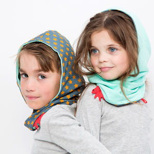 Reversible Hoodie Snood For Boys / Girls