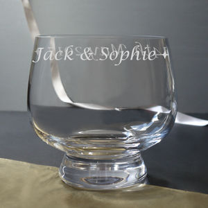 Your Personalised Glass Bowl