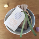 Personalised Easter Egg Favour Bag