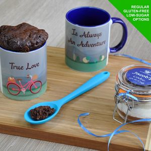 True Love Is An Adventure Cake In A Cup Kit To Share
