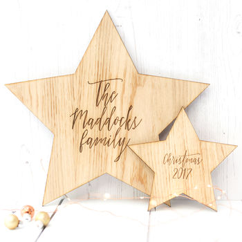 Family Christmas Star