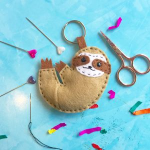 Sloth Felt Sewing Craft Kit - home