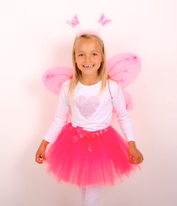 Princess Fairy Set In Hot Pink - summer sale