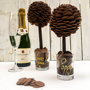 Personalised Chocolate Button Tree - chocolates & confectionery