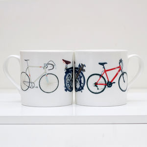 Bike Bone China Mug