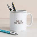 Big Heart Personalised Teacher Mug