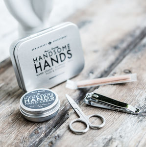 Handsome Hands Manicure Grooming Kit - wedding favours