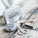 Handsome Hands Manicure Grooming Kit