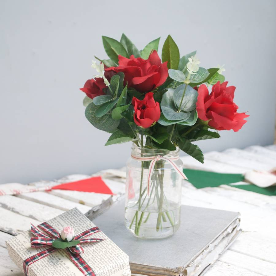 Christmas table decoration by abigail bryans designs christmas table decoration mightylinksfo
