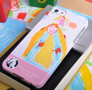 Kid's Personalised Drawing Design For Phone Case - tech accessories for her