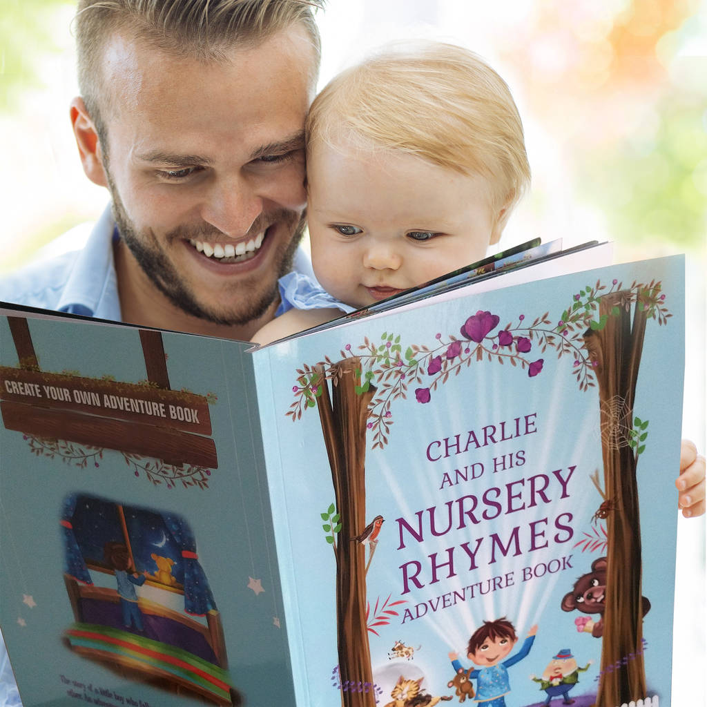 Personalised Nursery Rhymes Book For Baby