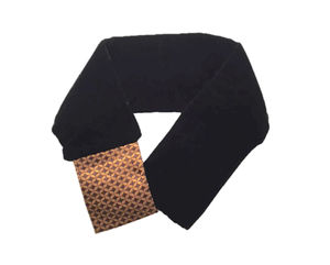Pure Silk And Velvet Unisex Neck Tie - hats