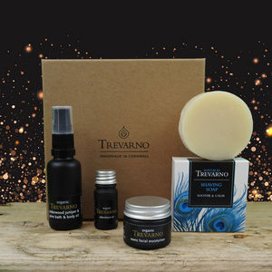 Men's Shaving Kit Gift Set - gifts for him