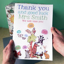 Personalised Big Thank You Card
