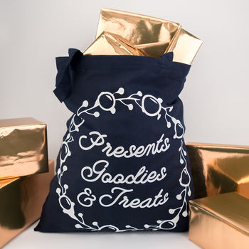 Presents Goodies And Treats Tote Bag