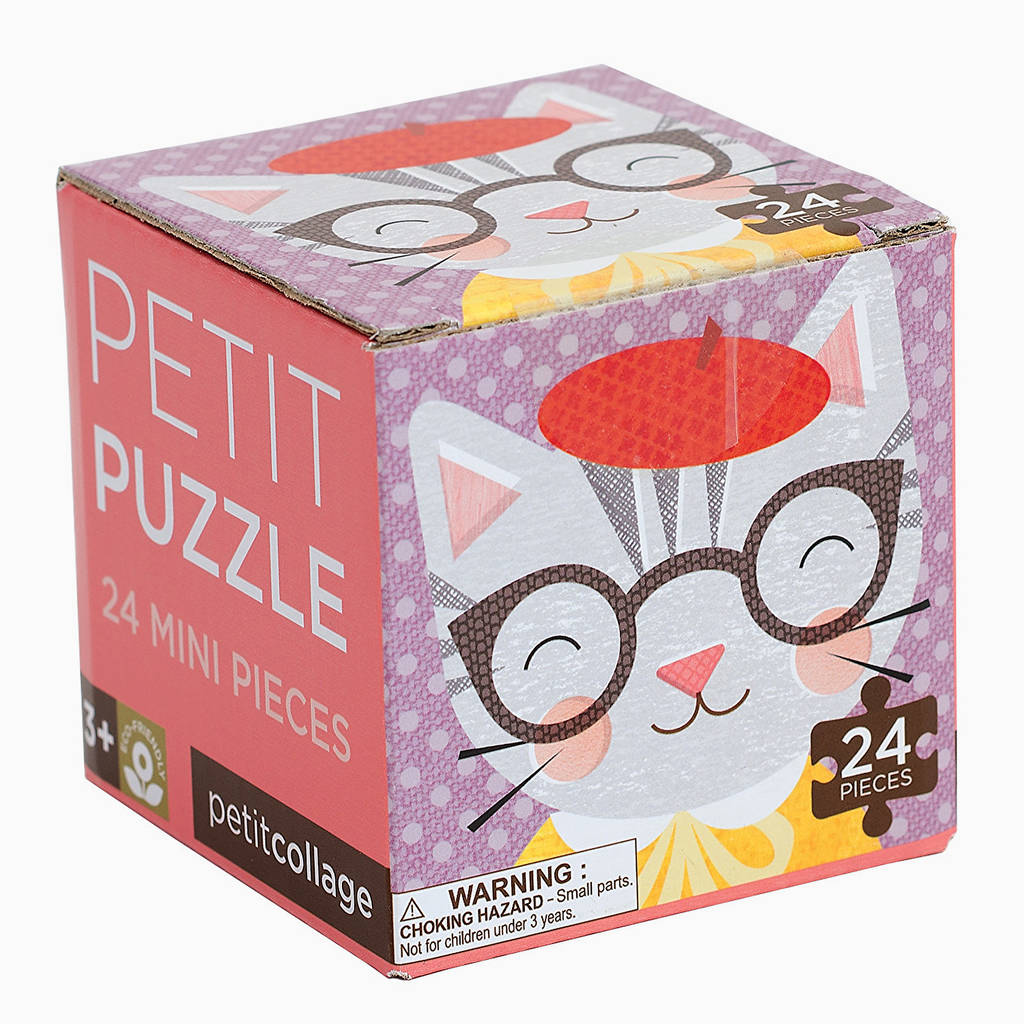 Cat Mini Jigsaw Puzzle By The Little House Shop