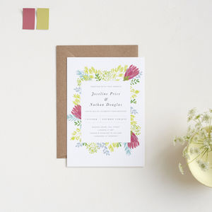 Antipodean Wedding Invitations - invitations