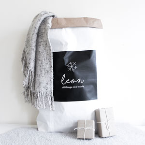 Custom Santa Sack For Christmas Gifts - stockings & sacks
