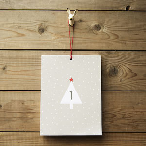 Countdown To Christmas Advent Calendar For Grown Ups - advent calendars