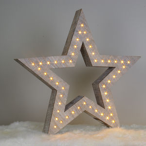 Large LED Star Decoration - winter sale