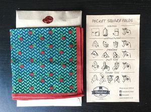 Men's Ladybug Green Pocket Square Handkerchief - handkerchiefs