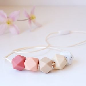 Hexagon Teething Necklace - gifts for babies & children