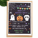 Halloween Children's Party Invitations