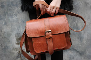 Camera Satchel Bag - mens