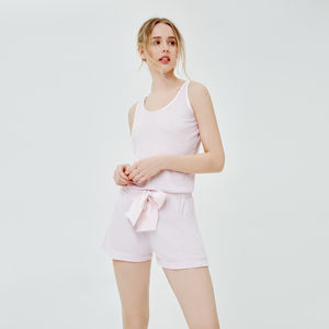 Luxurious Pink Pyjamas Set - new in wedding styling