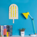 Lolly Glow In The Dark Clock