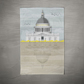 Sale St. Paul's Cathedral Tea Towel