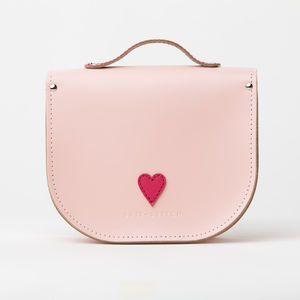 Specially For Her Personalised Small Leather Satchel - womens