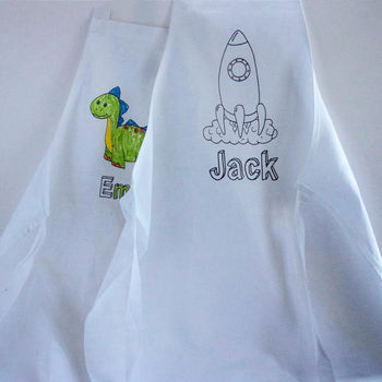 Colour In Apron Gift Set